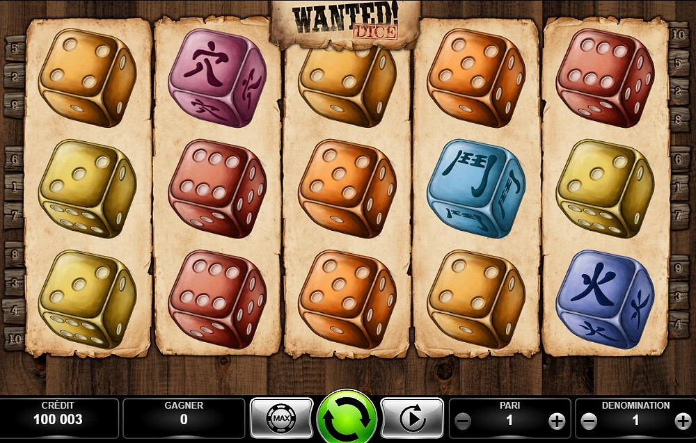 Blog LuckyGames.be - Kajot Wanted Dice Slot