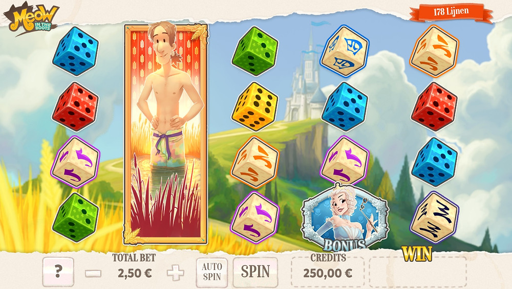 Blog LuckyGames.be - Gaming1 Meow in the boots Slot Game Review