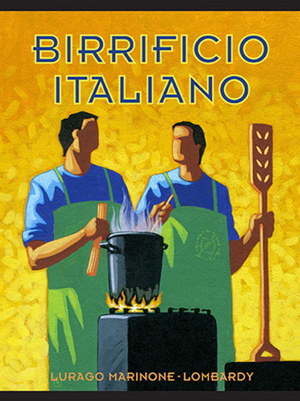 Birrificio Italiano Poster