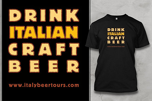 Drink Italian Craft Beer Tee