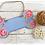 Thumbnail: Personalised Floral Dog Bone Sign