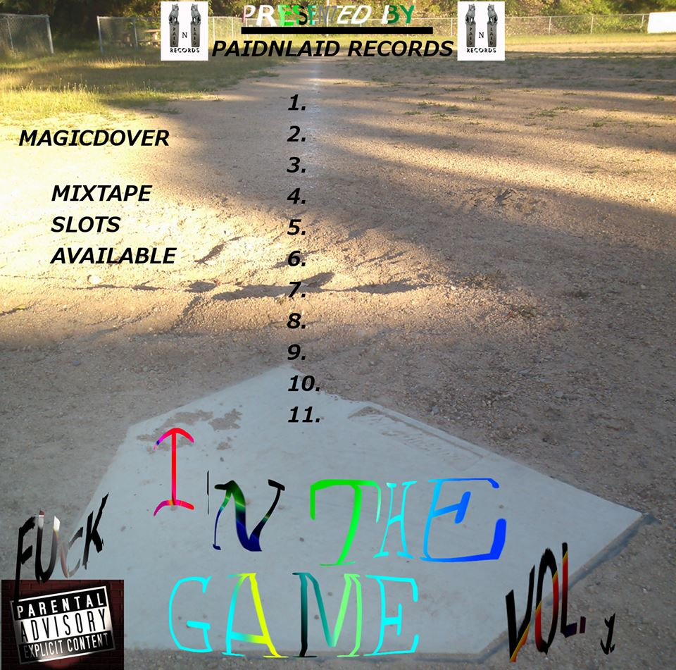 in da game vol 1 front cover