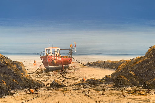 One of the Fishing Fleet, Freshwater East, Pembs