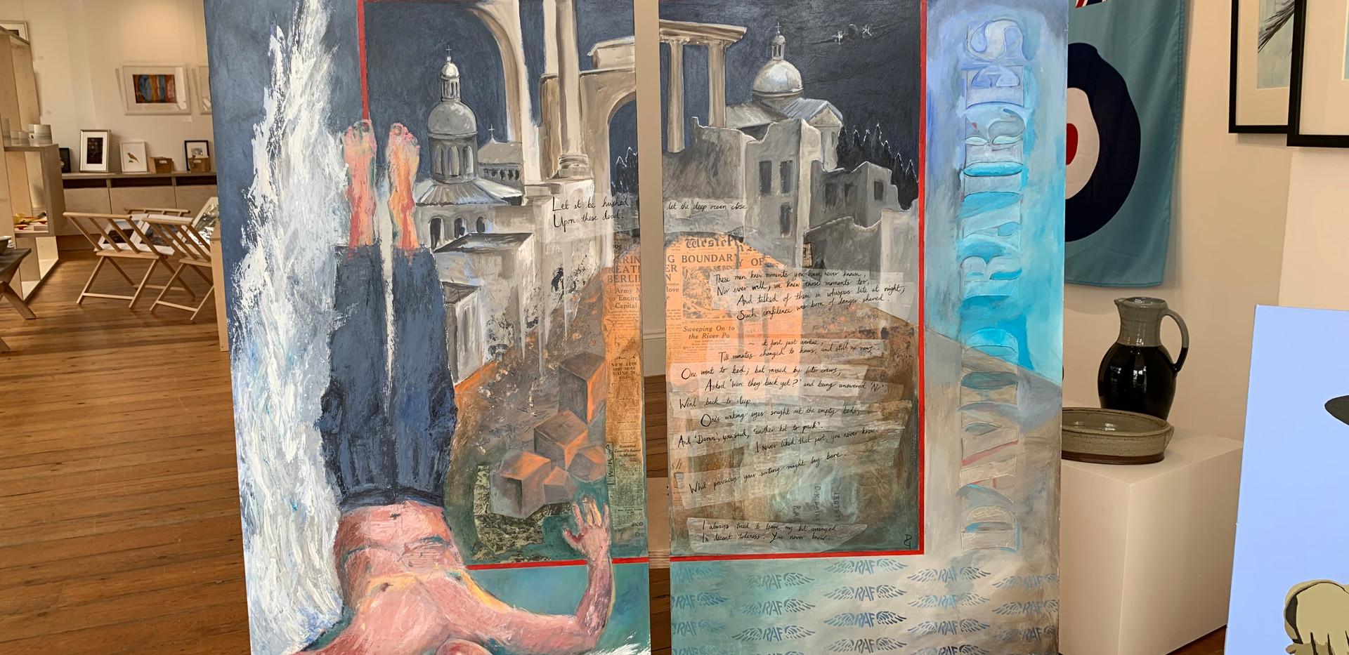 Deborah Gilligham's diptych - £1,500
