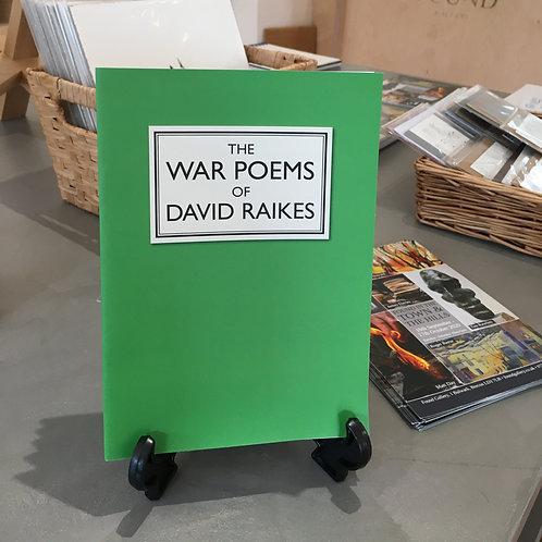 The War Poems of David Raikes