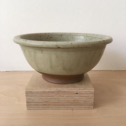 Cream Desert Bowl