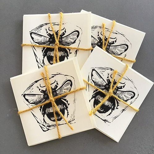 Bee Cards by Rhys Partridge