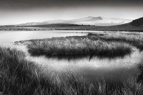 Distant Peaks - Brecon Beacons