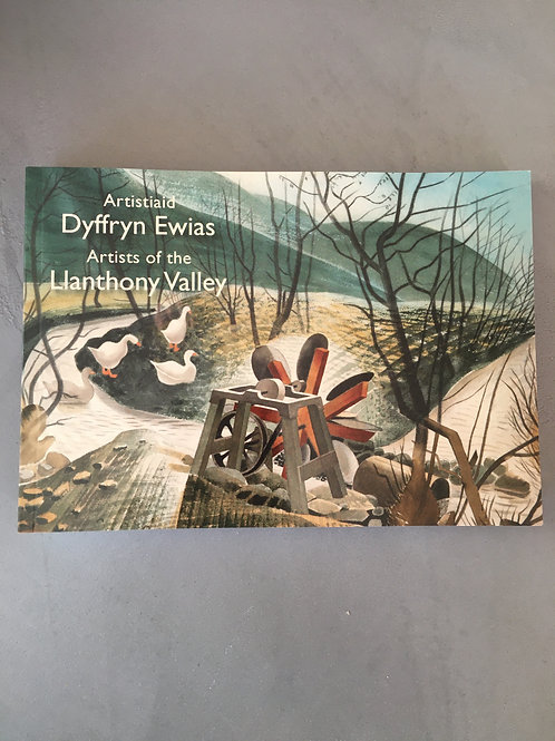 Artists of The Llanthony Valley, book by William Gibbs & Elizabeth Siberry