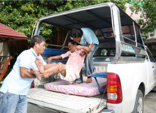 A Life Saving Ambulance for the Camillian Center