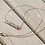 Thumbnail: Rose gold bar necklace