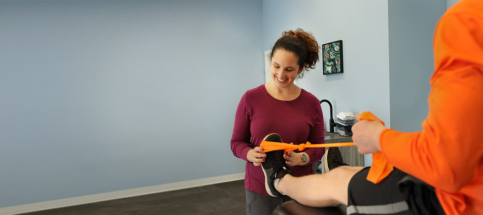 Yorkton's sport injury physiotherapist Jannalee Edgar helping athletes at Prairie View Physiotherapy