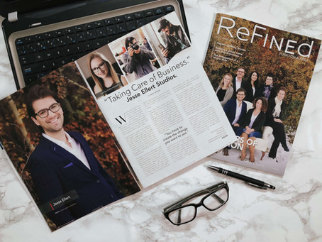 Cover Story & Feature | ReFined Magazine | Inside Interview with Jesse Ellert's Branding Studio