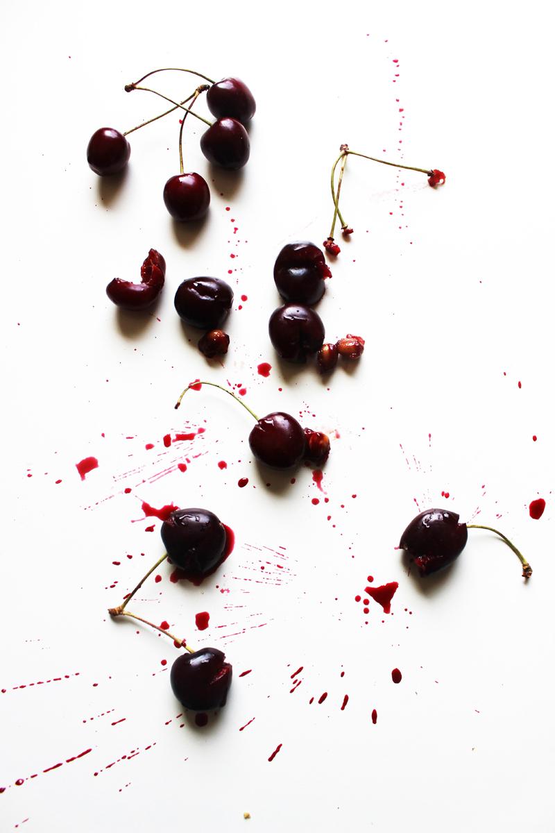 smash cherries