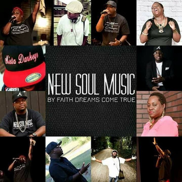 New Soul Music Logo and their artist