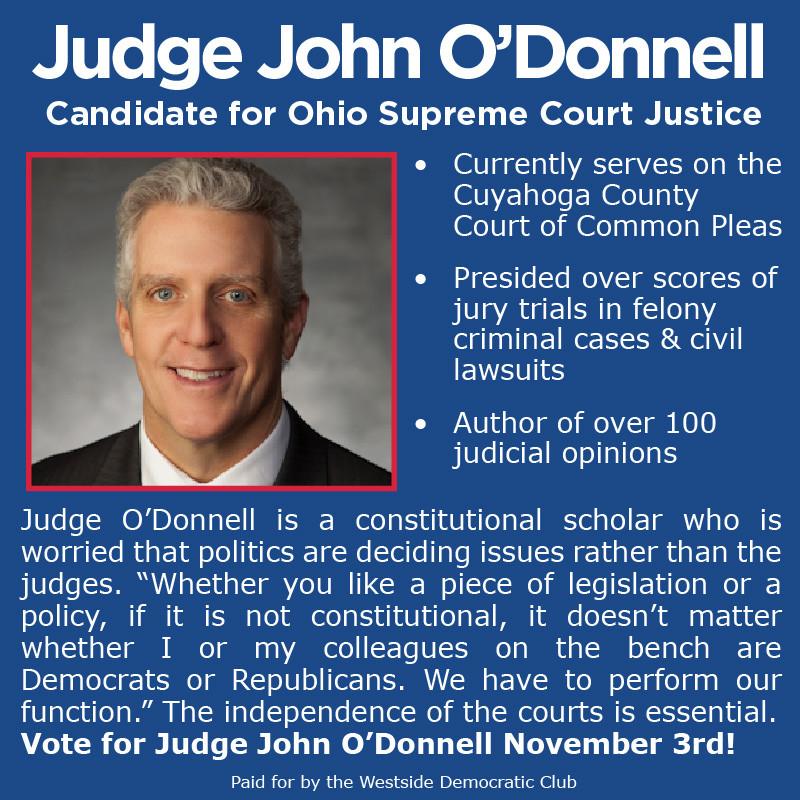 Judge John O'Donnell