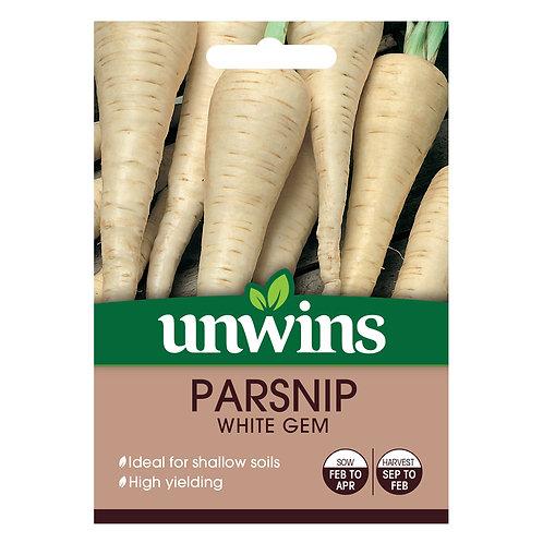 Parsnip White Gem (Unwins)