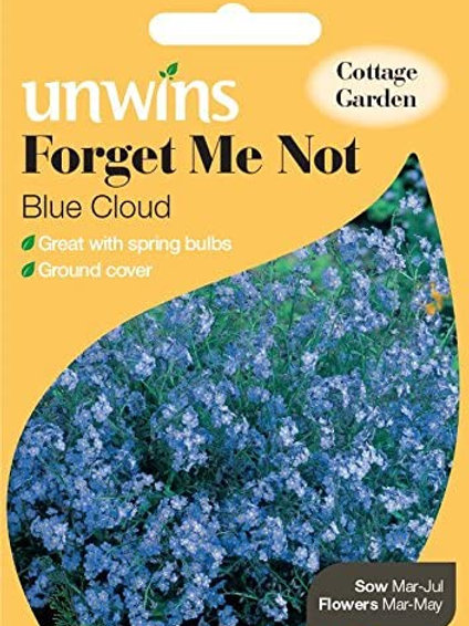 Unwins Forget Me Not Blue Cloud - Approx 450 Seeds