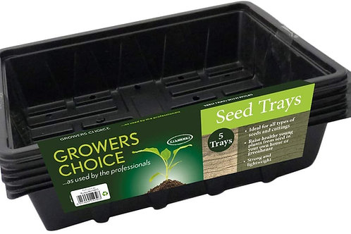 Grower's Choice Half Seed Tray (Pack of 5)
