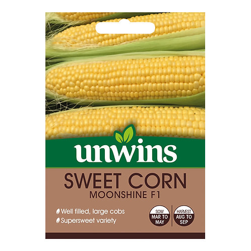 Sweet Corn Moonshine F1 (Unwins)
