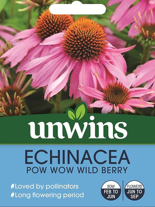 Unwins Echinacea Pow Wow Wild Berry - Approx 10 Seeds