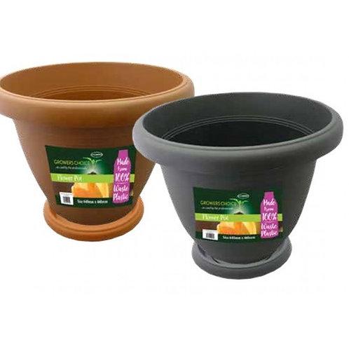 Grower's Choice Flower Pot 250 x 202mm