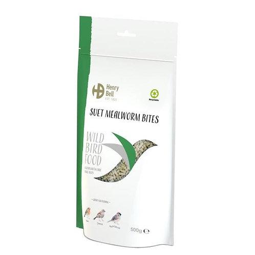 Henry Bell Suet Mealworm Bites 500g