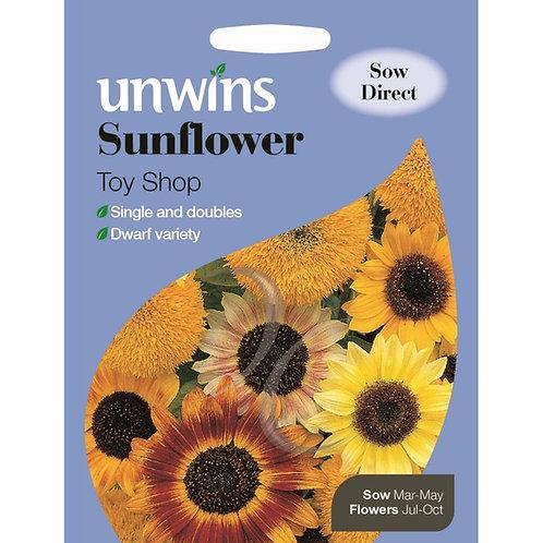 Unwins Sunflower Toy Shop - Approx 30 Seeds