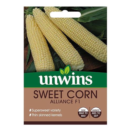 Sweet Corn Alliance F1 (Unwins)