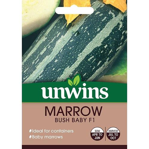Marrow Bush Baby F1 (Unwins)