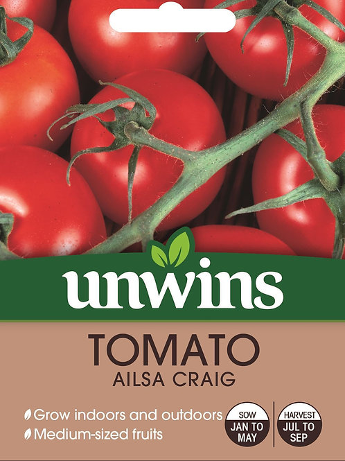 Unwins Tomato Ailsa Craig - Approx 60 Seeds