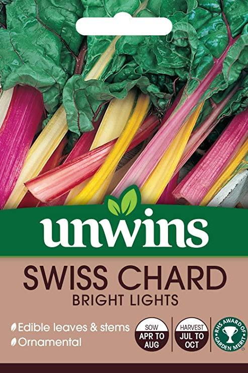 Swiss Chard Bright Lights (Unwins)