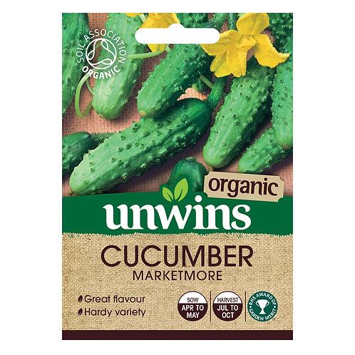 Organic Cucumber Marketmore (Unwins)