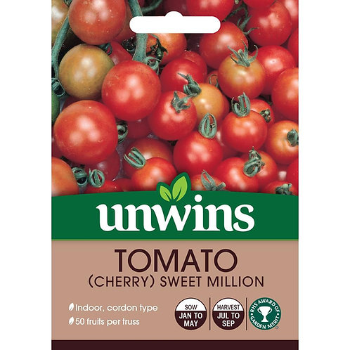 Tomato (Cherry) Sweet Million (Unwins)
