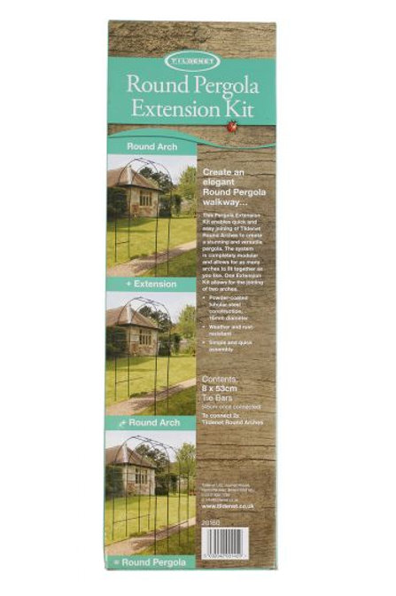 Tildenet Round Pergola Extension Kit