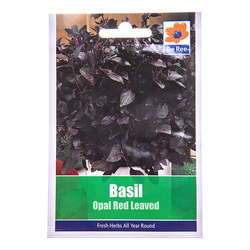 De Ree Basil Opal Red Leaved Seeds
