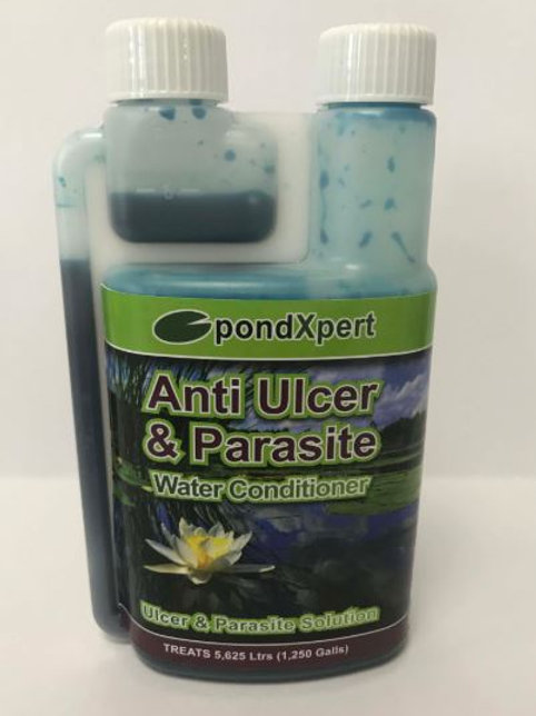 PondXpert Ulcer & Parasite Water Conditioner 250ml