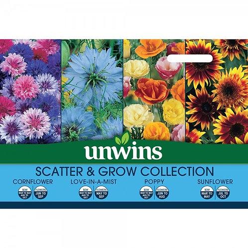 Unwins Scatter & Grow Collection - 4 Varieties