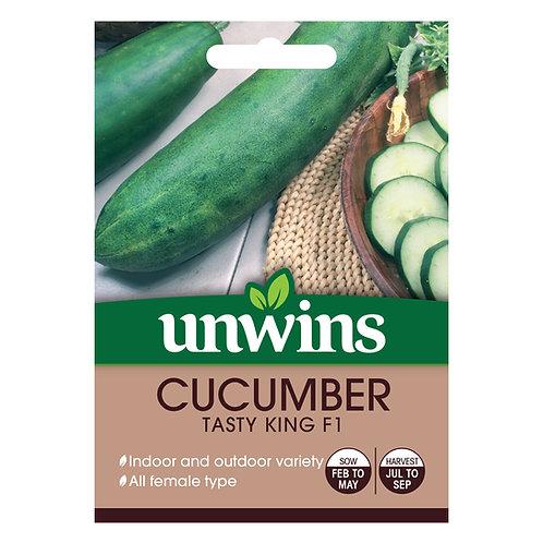 Cucumber Tasty King F1 (Unwins)