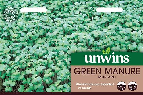 Unwins Green Manure Mustard - Approx 12000 Seeds