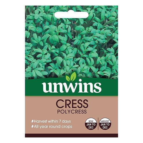 Cress Polycress (Unwins)