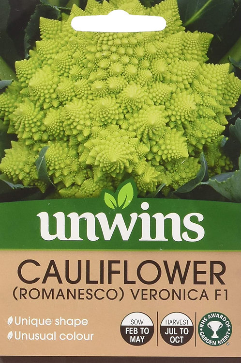 Cauliflower (Romanesco) Veronica F1 (Unwins)