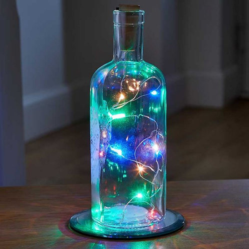 Bottle It! Multi-Coloured String Lights - Single Pack