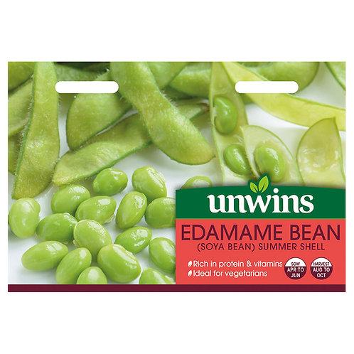 Unwins Edamame Bean (Soya Bean) Summer Shell - Approx 50 Seeds
