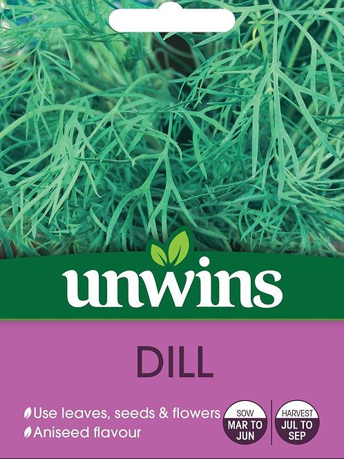 Unwins Dill - Approx 500 Seeds