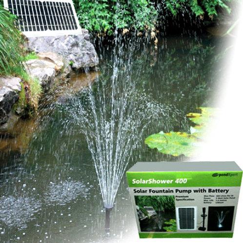 PondXpert SolarShower 400 Solar Fountain Pump