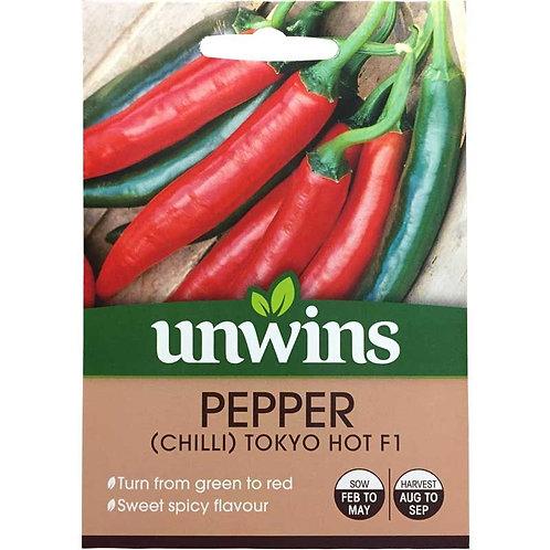 Pepper (Chilli) Tokyo Hot F1 (Unwins)