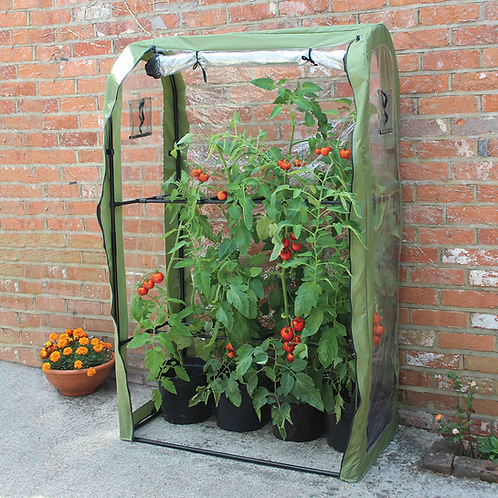 Haxnicks Tomato Crop-Booster Frame and Cover