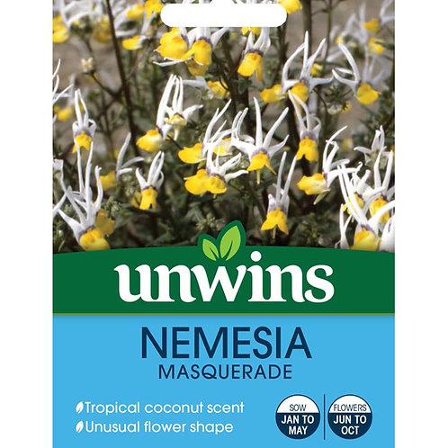 Unwins Nemesia Masquerade - Approx 50 Seeds