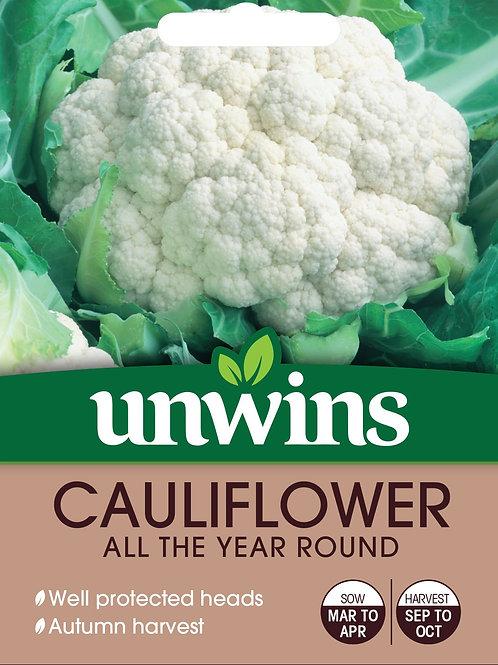 Cauliflower All The Year Round (Unwins)